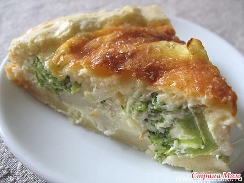Пирог из цветной капусты в духовке рецепт с