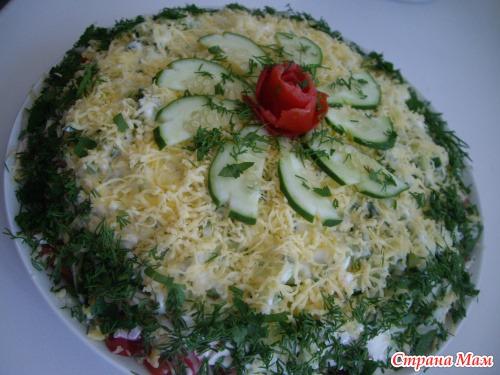 Эксклюзивные салаты фото