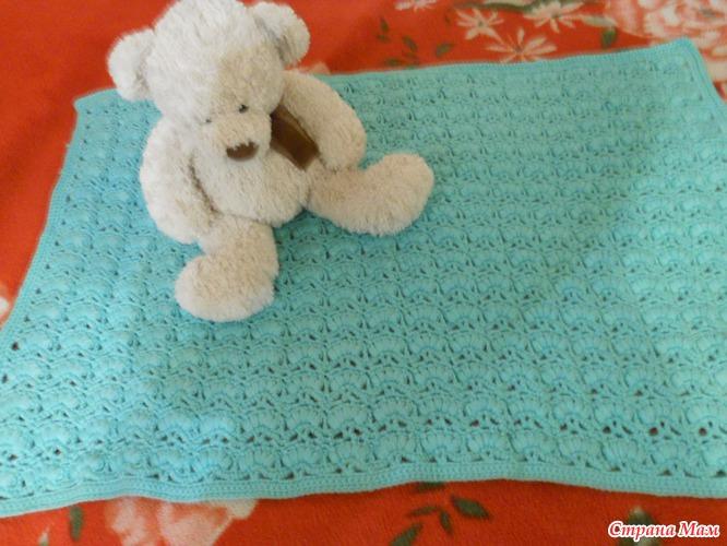 Одеяло для внучка