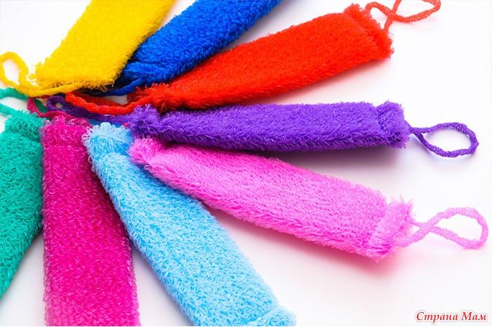 Схемы для вязания мочалок Как