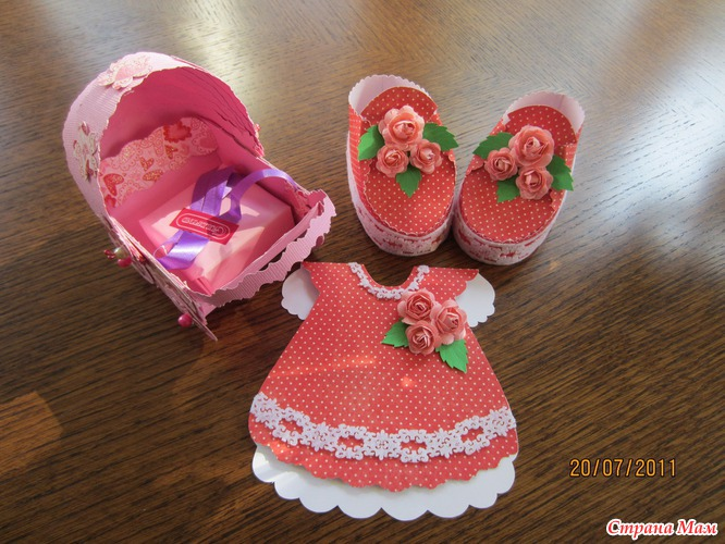 Подарок дочери мастер класс
