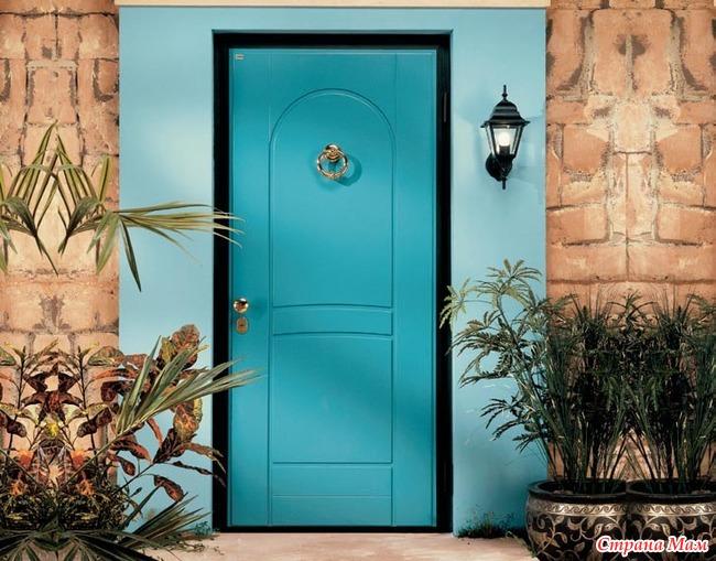 красивые двери на входную дверь