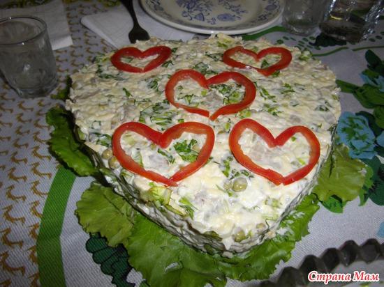 Вкусные салаты на свадьбу фото