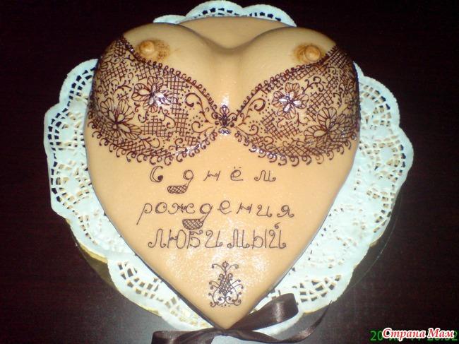 Торт грудь фото и рецепт