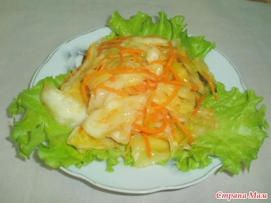Капуста по корейский рецепт с фото