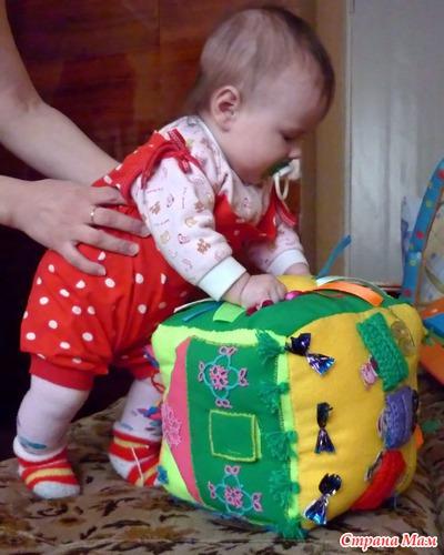 Развивающие игрушки сделанные своими