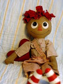 Готовимся к совместному пошиву примитивной куклы.