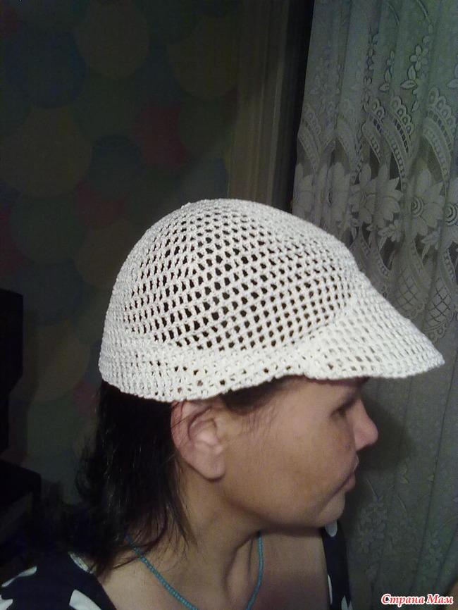 Кепка-уточка - Вязание