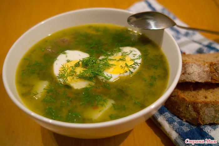 Щавелевый суп - Рецепты для очень занятой мамы - Страна Мам
