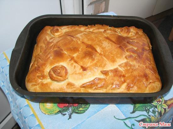Пирог простой рецепт пошагово в духовке