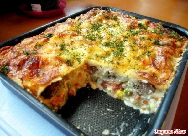 Блюда ленивая жена рецепт