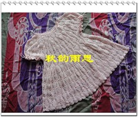 Платье для девочки с ананасами крючком