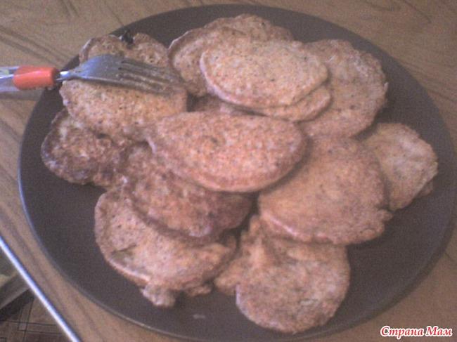 Котлеты из консервированной сайры с фото