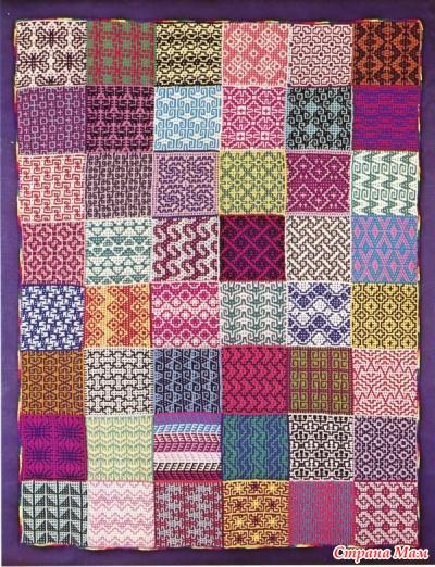 Мозаичное вязание(жаккард)
