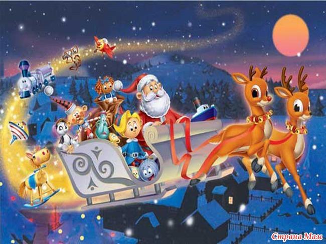 Все мультфильмы про новый год