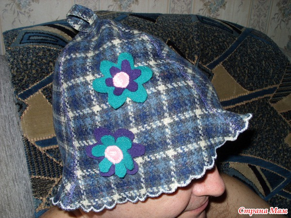 Своими руками шапка для бани 116