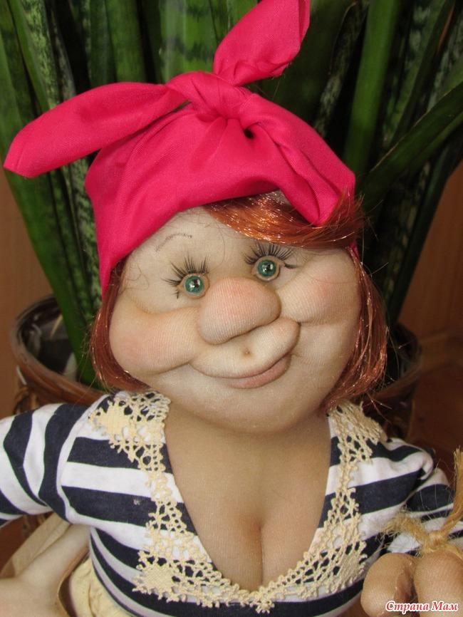 Куклы своими руками из синтепона и капрона