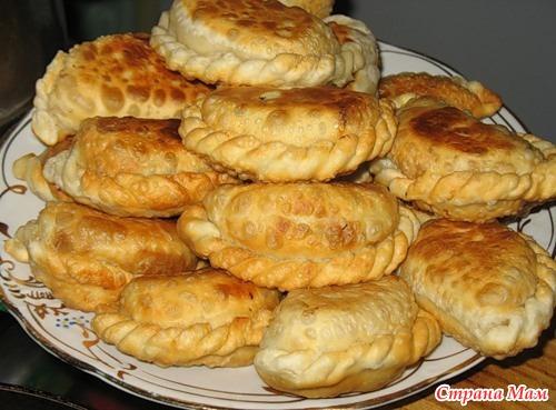 Крымские самосы с фруктами рецепт с фото