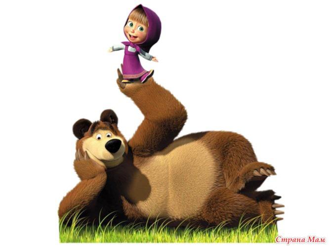 маша и медведь день рождения фото