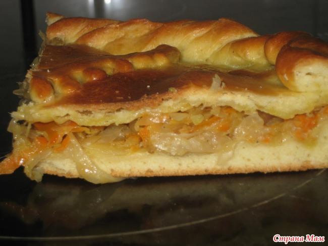 Пироги с квашеной капустой в духовке рецепт с