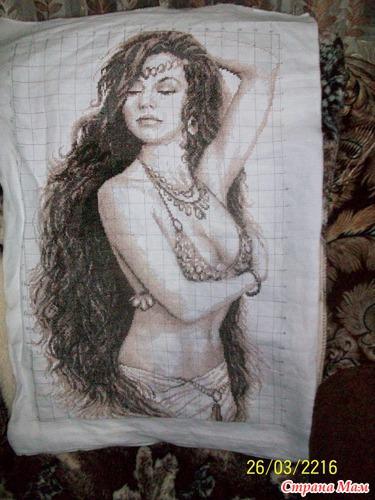 Моя вышивка Шакира