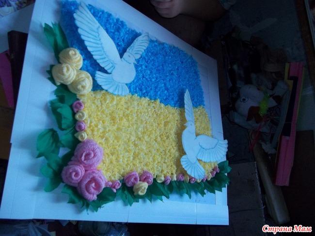 Поделки ко дню независимости украины в детском саду