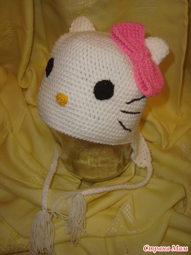 Шапочка Kitty