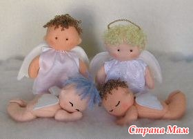 Маленький ангелочек своими руками