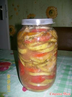 Кабачки кружочками по-корейски рецепт