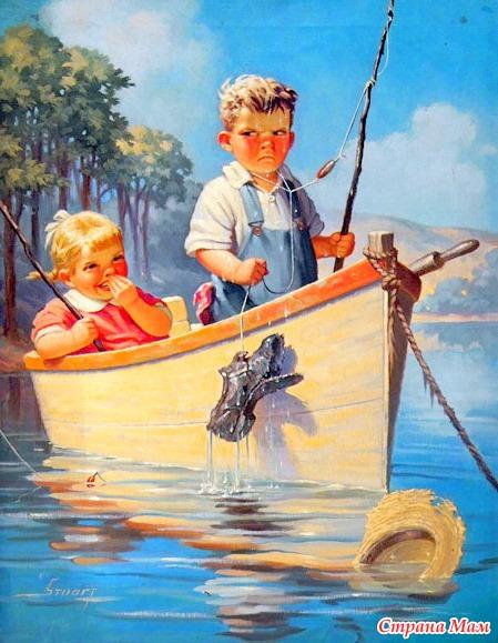 маленький рассказ не взяли на рыбалку