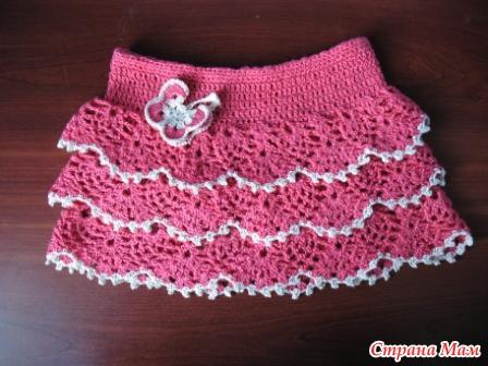 юбка крючком для юбка крючком