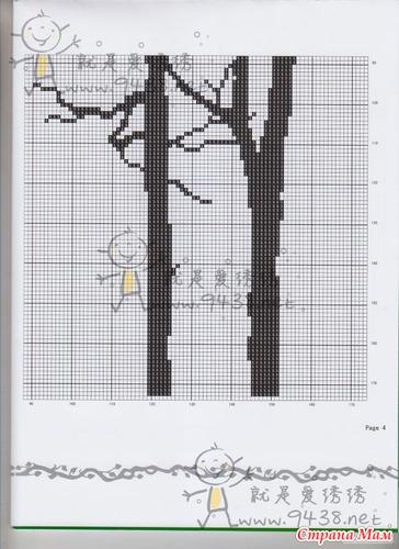 Триптих деревья