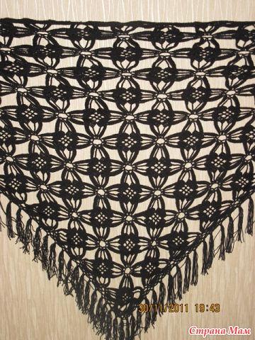 Помогите найти схему шали.