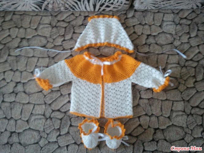 Вязание шапочки для новорожденного видеоурок