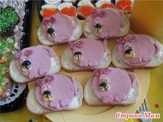 креативные бутерброды правильное питание для детей фото