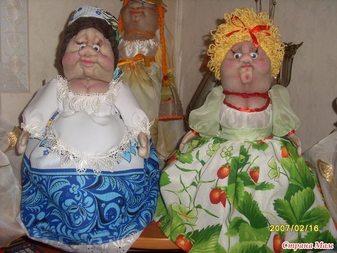 Картинки поделки куклы