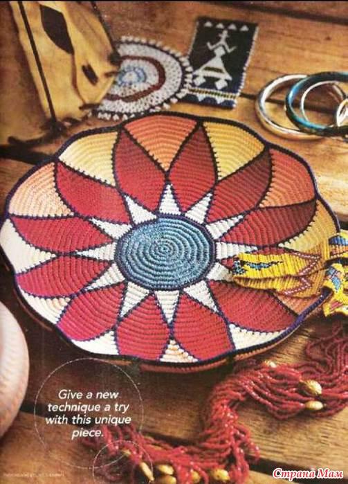 техника вязания тапестри