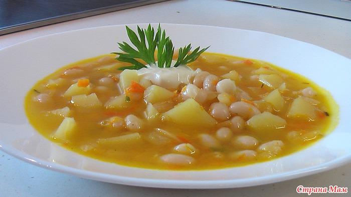суп из фасоли рецепт с картофелем