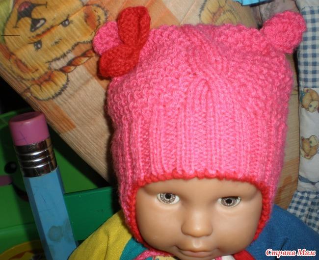 Вязание шапочек для самых мал
