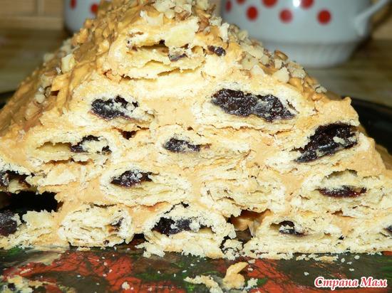 пошаговый рецепт с фото торта монастырская изба