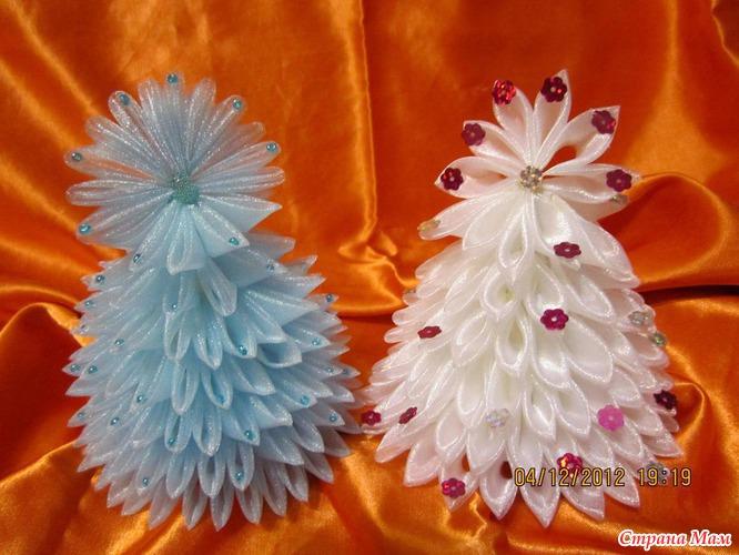 Поделки из органзы фото - Как сделать своими руками цветок из ткани. Поделки из тканей
