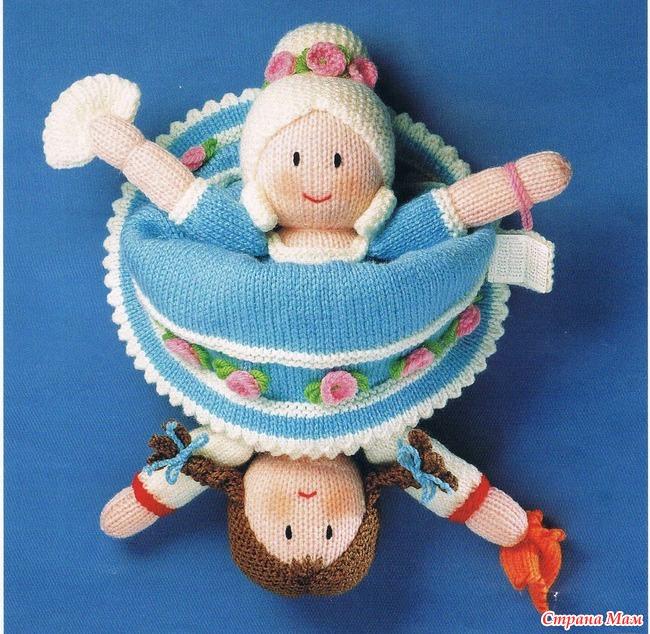 Кукла перевертыш своими руками