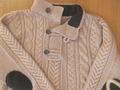Мужской свитер с рельефным узором. .  *35 п. узором по схеме 1, 9 п. узором по схеме 2*. повторить от * до * 2 раза...