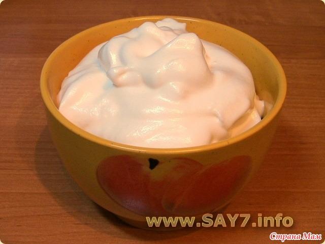 крем из белков рецепт с фото