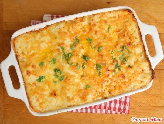 блюда макарон в духовке рецепты фото