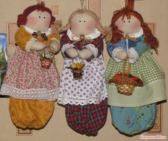 Сшить своими руками куклу пакетницу