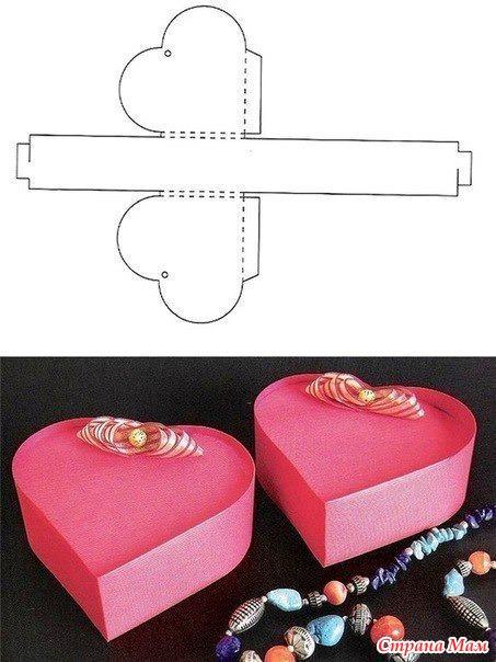 Красивые коробочки как сделать