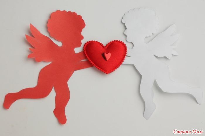 Украшения ко дню св.валентина своими руками
