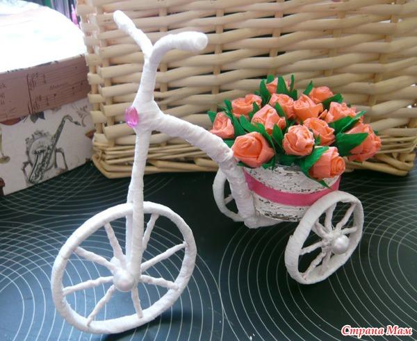Поделки на велосипеде