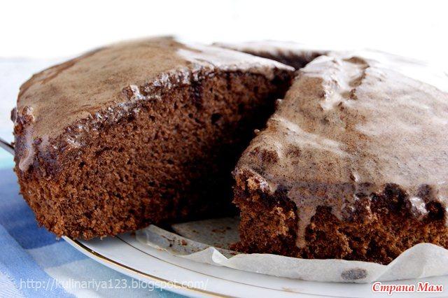 Шоколадное кухэ фото
